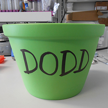 Dodd Labeled Ice Bucket